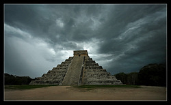 Temple of Kukulkan - front