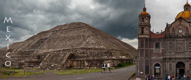 Mexico City and Teotihuacan