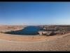 Aswan dam panorama