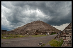 Teotihuacan - The Sun pyramid