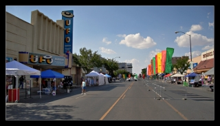 Roswell - Main Street and UFO Museum